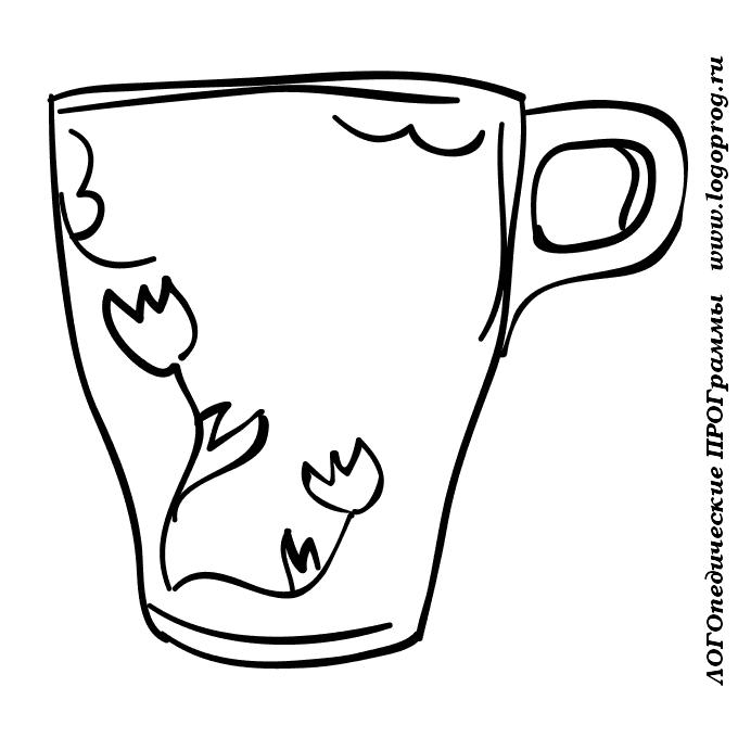 Картинки раскраски чайник