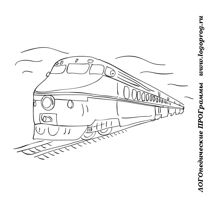 Картинки для раскраски транспорт